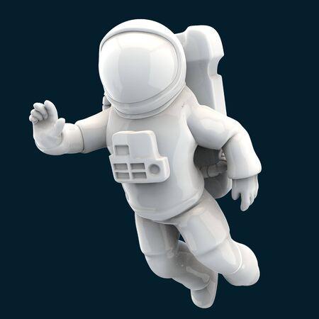 Astronaut concept - 3D Illustration Stockfoto
