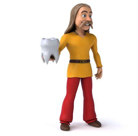 Fun gaulois - 3D Illustration