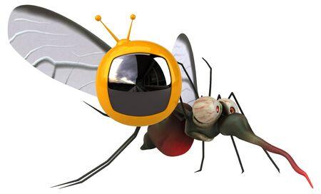 Mosquito - 3D Illustration