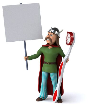 Fun Gaulois- 3D Illustration 写真素材