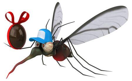 Mosquito - 3D Illustration Foto de archivo