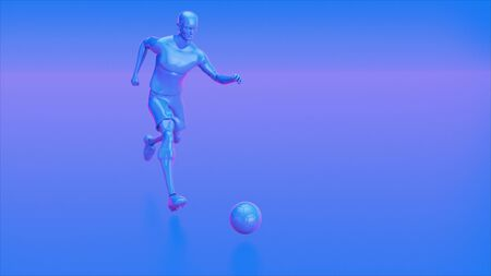 3D motion design of a football game