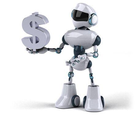 Roboter Standard-Bild
