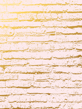 Golden marble imitation cover background. Abstract backdrop with old rock, stone texture. Stock Photo