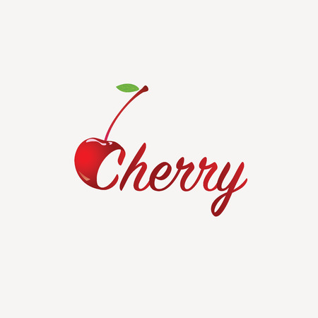 Cherry . Illustration