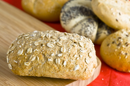 Artisanal seed bread