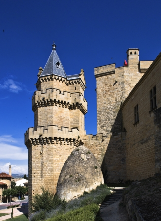 Castle-Palace of Olite, Navarra, Spain