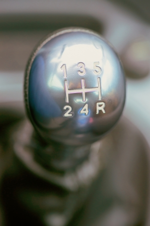 shifter: silver shifter used with white letters