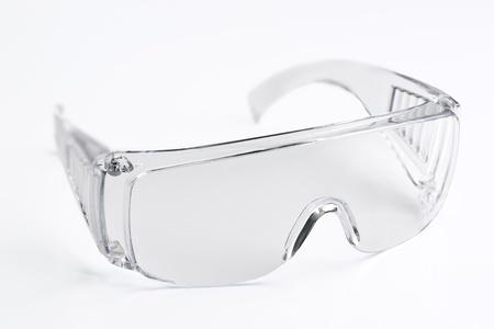 seguridad e higiene: transparente gafas de seguridad en el trabajo