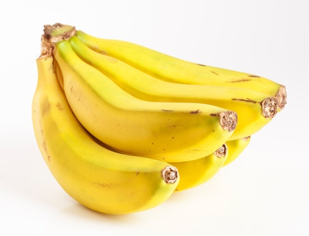 Bunch of bananas in the Canary Islands