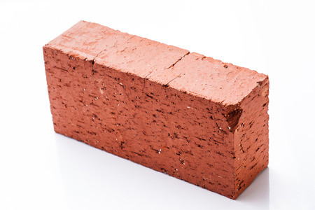 solid: Solid clay brick used for construction