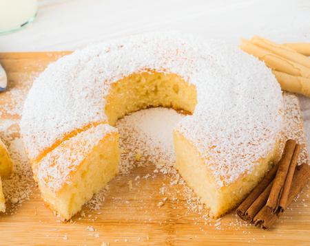 homemade bundt cake Stock Photo