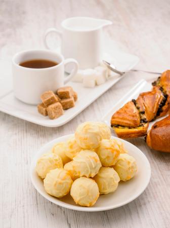 cafe bombon: milk tea puff pastries and pralines