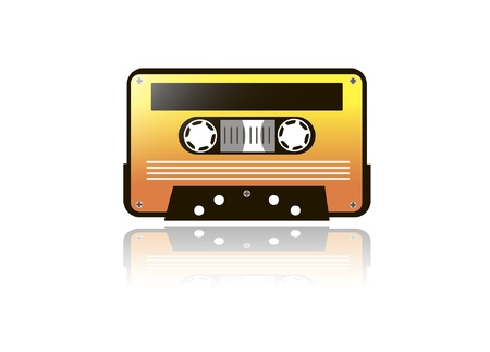 vector cassette Stock Vector - 13826885