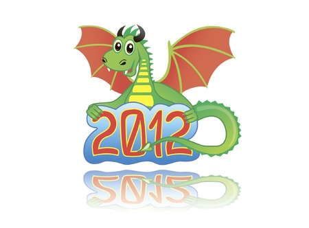 dragon 2012 Vector