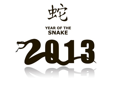 Vector Snake sign 2013 Vector