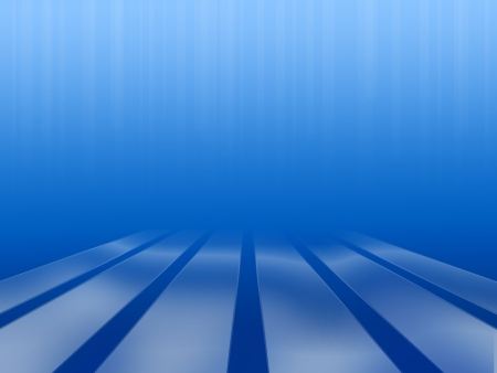 illustration of fantasy underwater abstraction with platform Stock Illustration - 17775011