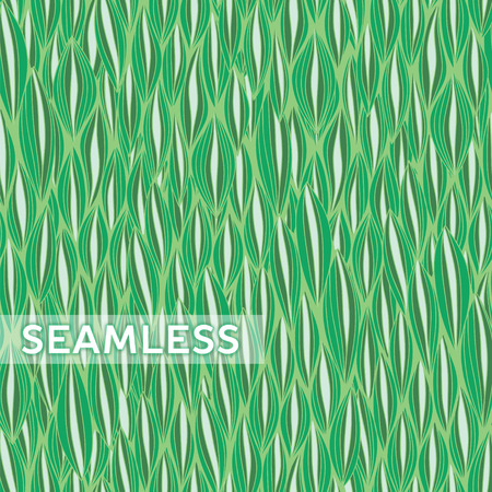 jointless: Abstract vector seamless pattern with curvy elements.