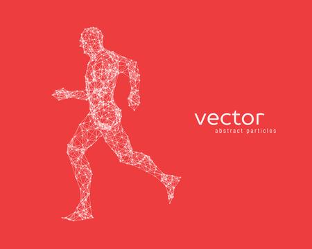 Resumen ilustración vectorial del hombre corriente.