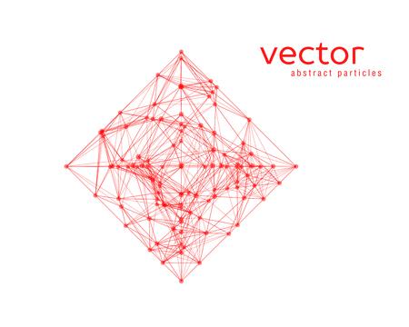 rhomb: Vector abstract illustration of simple shape - rhomb. EPS 10