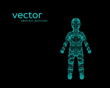 Vector illustration of child