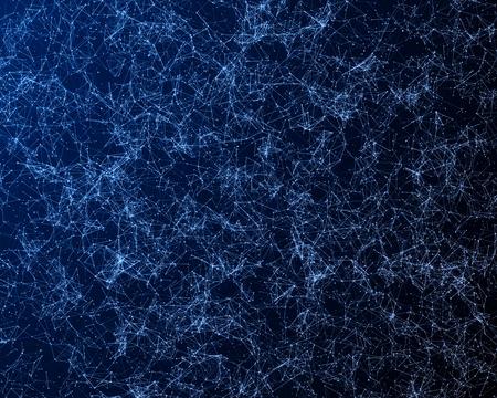 抽象的な粒子との背景。ビットマップ イメージ。