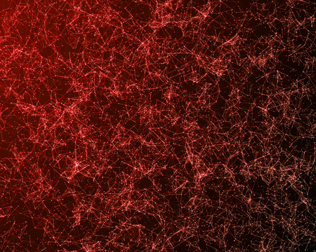 Background with abstract color particles. Bitmap image. Stock Photo