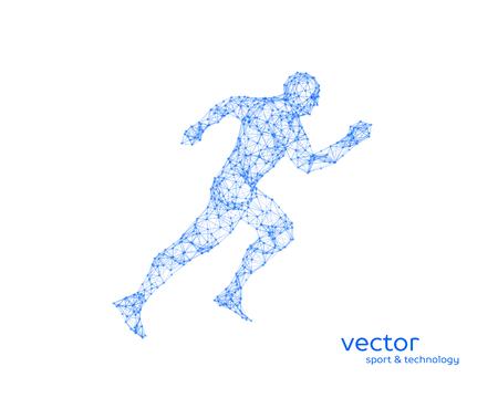 Resumen ilustración vectorial del hombre corriente. Foto de archivo - 83757252