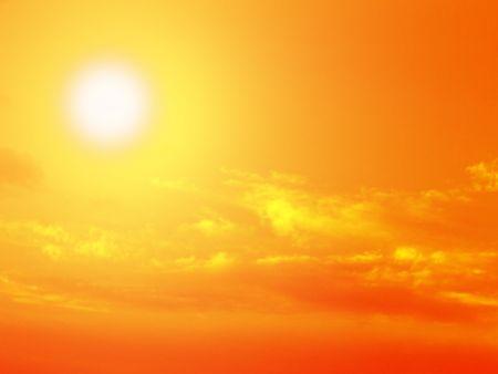 high rises: sun, sky, cloud, sunrise, sunset, landscape, heaven, sunlight, background, clouds, orange, light, wallpaper, horizon, skyline, sunshine