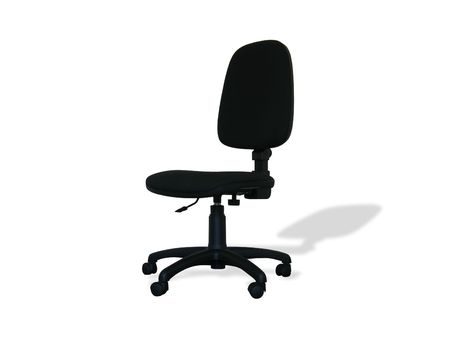ofis koltuğu: Office chair on a white background Stok Fotoğraf