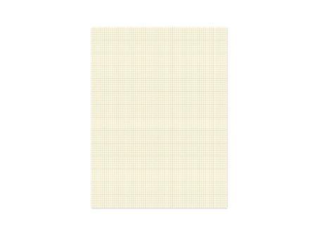 plotting: Isolated blank plotting paper on a white background