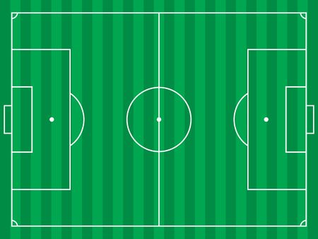 football or soccer field photo