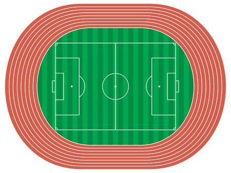 illustration of a stadium illustration