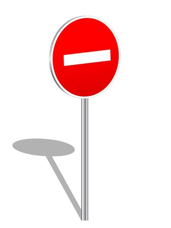 no way: prohibition, sign, traffic, warning, symbol