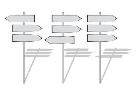 signpost, direction, board, arrow, information Stock Photo - 4979118