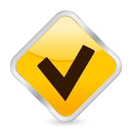 button, icon, web, check, mark, square, internet photo