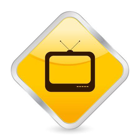 televisor: button, icon, web, tv, televisor, internet, computer