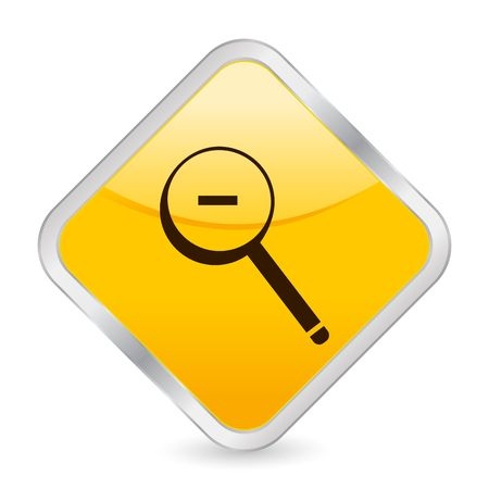 button, icon, web, zoom, out, internet, computer Stock Photo - 5108683
