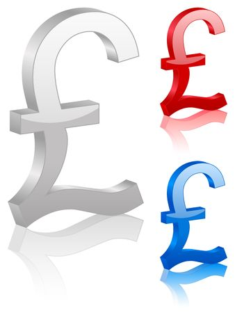 british currency: icon, finances, pound, money, currency, british, symbol Stock Photo