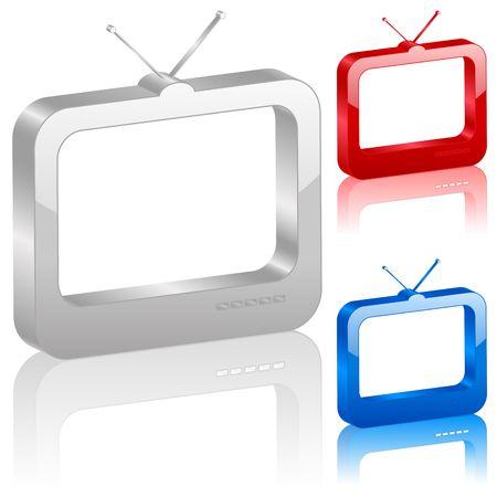 tv antenna: icon, computer, tv, television, internet, symbol