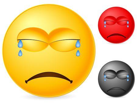 Emoticon isolated on white background. Vector illustration. Stock Illustration - 6231777