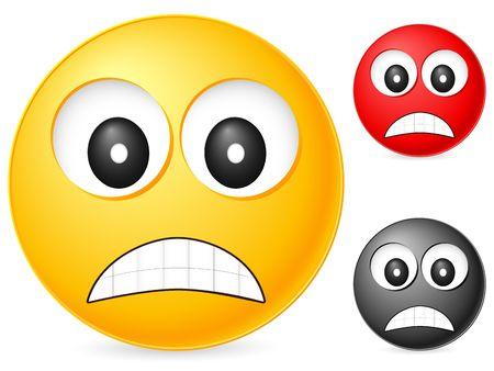 Emoticon isolated on white background. Vector illustration. Stock Illustration - 6231775