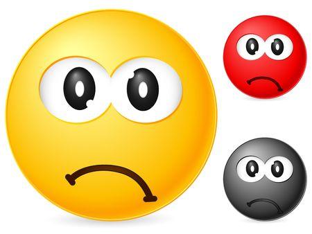 Emoticon isolated on white background. Vector illustration. Stock Illustration - 6231779