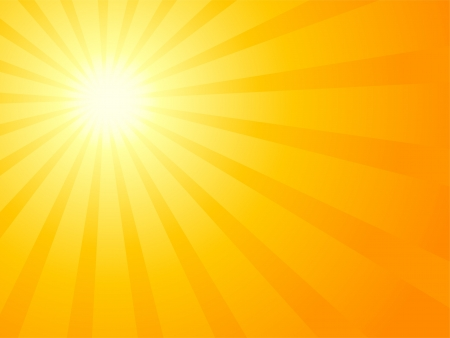 dramatic sky: Cielo naranja y sol espectacular.