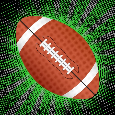 Abstract grunge american football background. Vector illustration. Vector
