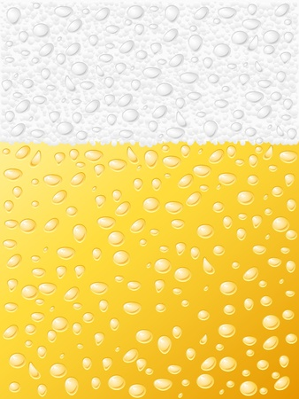 dewy: Dewy beer texture background.  illustration.