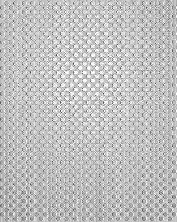 sheet iron: Metal texture background. illustration. Illustration