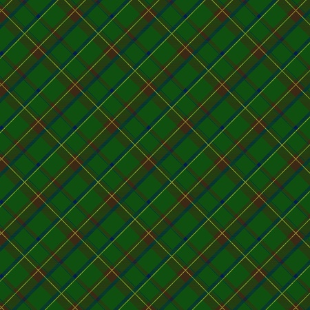Seamless plaid fabric pattern background. Vector illustration. Vector