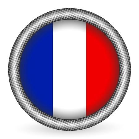 flag france: France bouton drapeau
