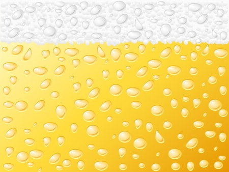 Dewy beer texture background.  Stock Vector - 10549035